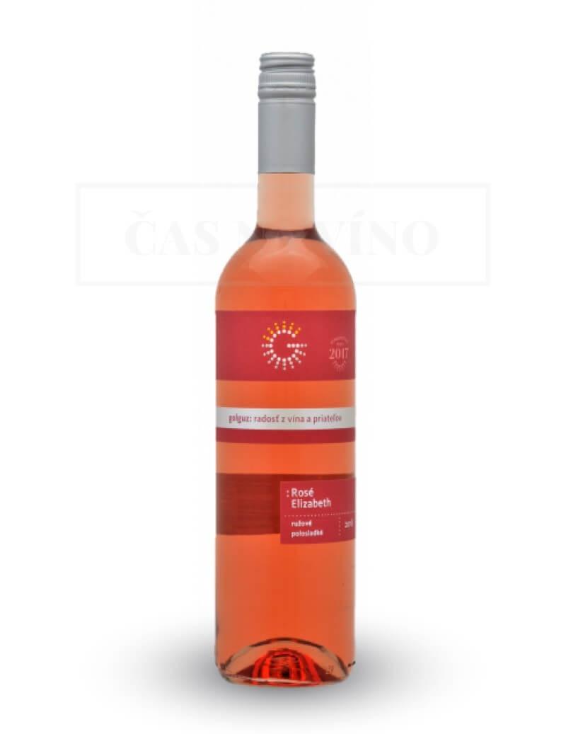 Rosé Elizabeth vinárstvo Golguz