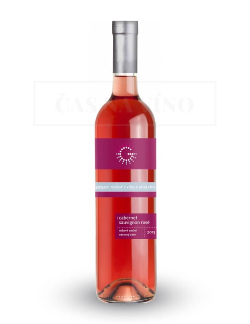 Cabernet Sauvignon Rosé vinárstvo Golguz