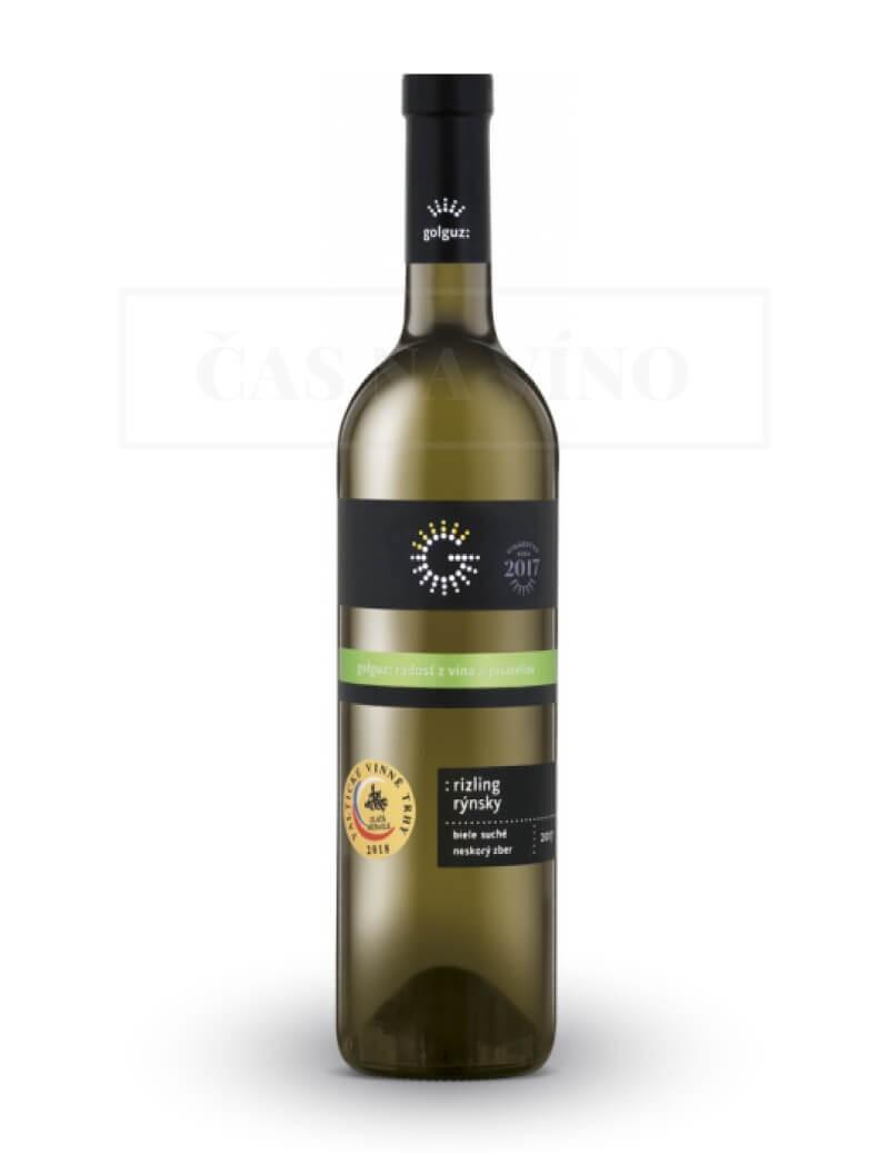 Rizling Rýnsky 2017 z vinárstva Golguz