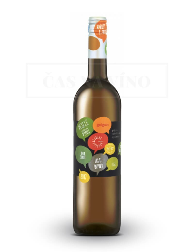 Irsai Oliver 2018 z vinárstva Golguz