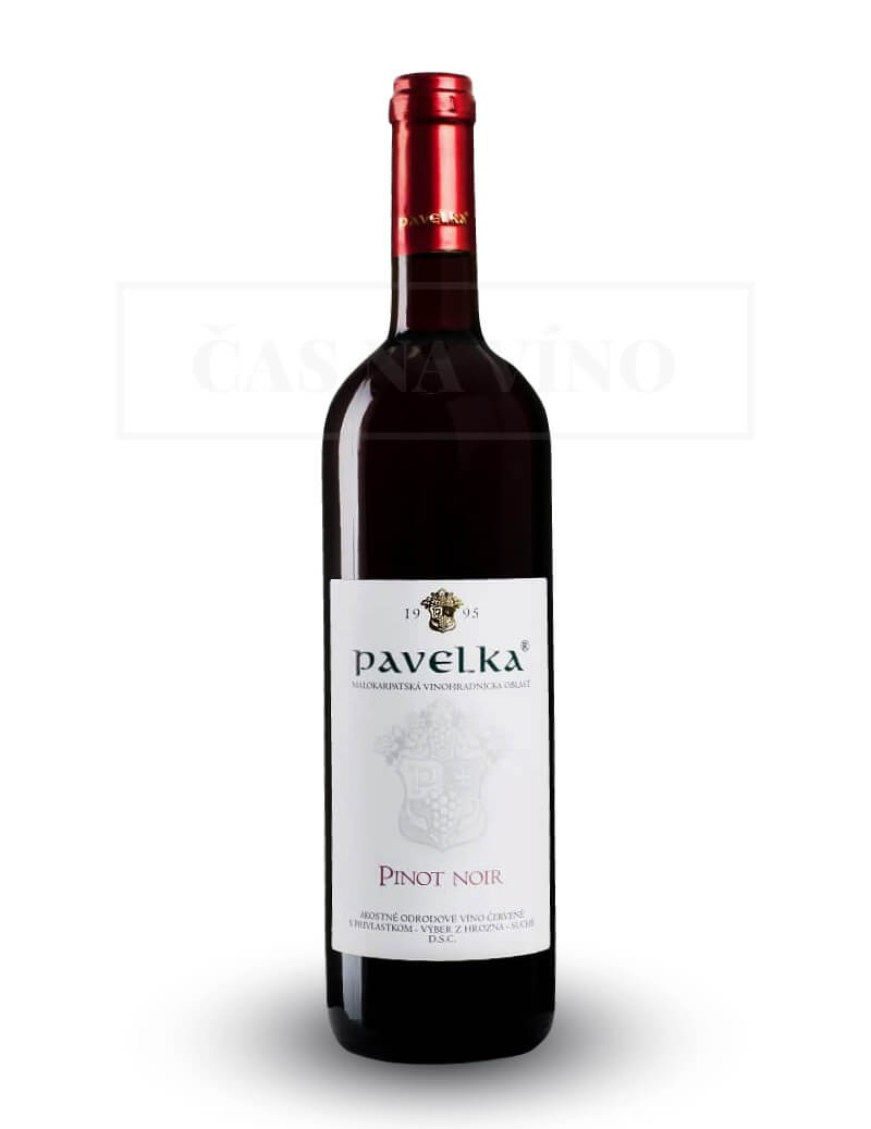 Pinot Noir vinárstvo Pavelka