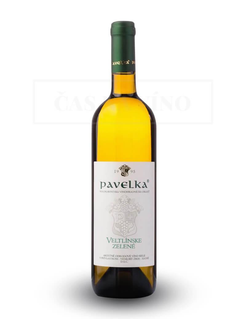 Veltlínske zelené vinárstvo Pavelka