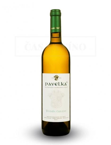 Tramín červený vinárstvo Pavelka