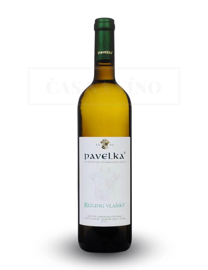 Rizling vlašský vinárstvo Pavelka