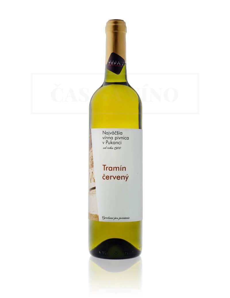 Víno Tramín červený, vinárstvo Najväčšia vínna pivnica v Pukanci