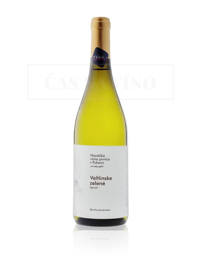 Najväčšia vínna pivnica v Pukanci - Veltlínske zelené Lignum
