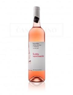 Najväčšia vínna pivnica v Pukanci - Svätovavrinecké rosé