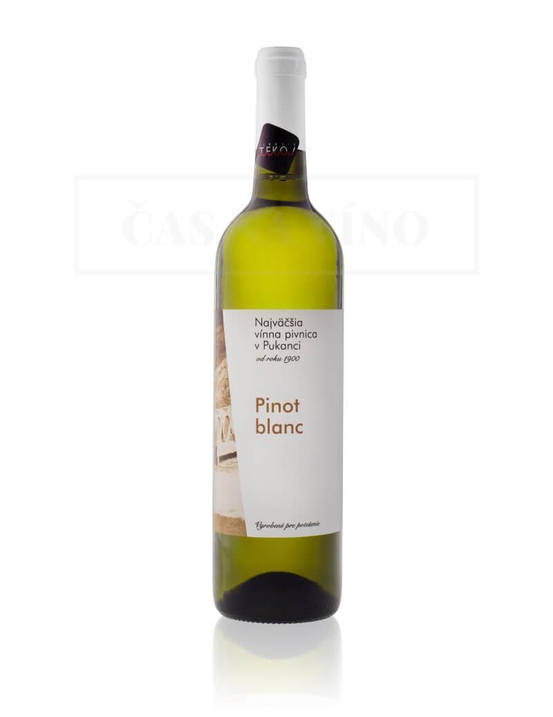 Najväčšia vínna pivnica v Pukanci - Pinot Blanc