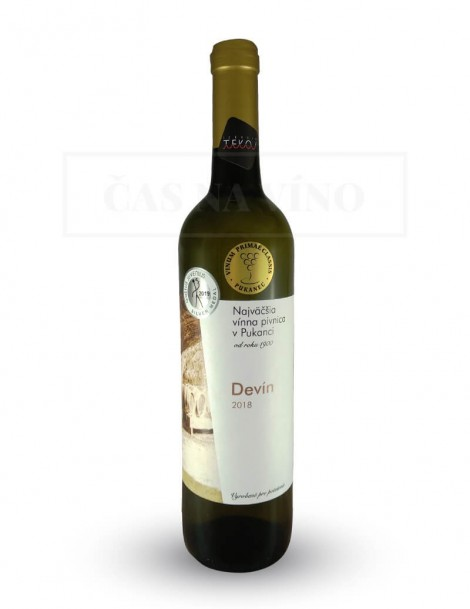 Devín 2018 z vinárstva Najväčšia vínna pivnica v Pukanci