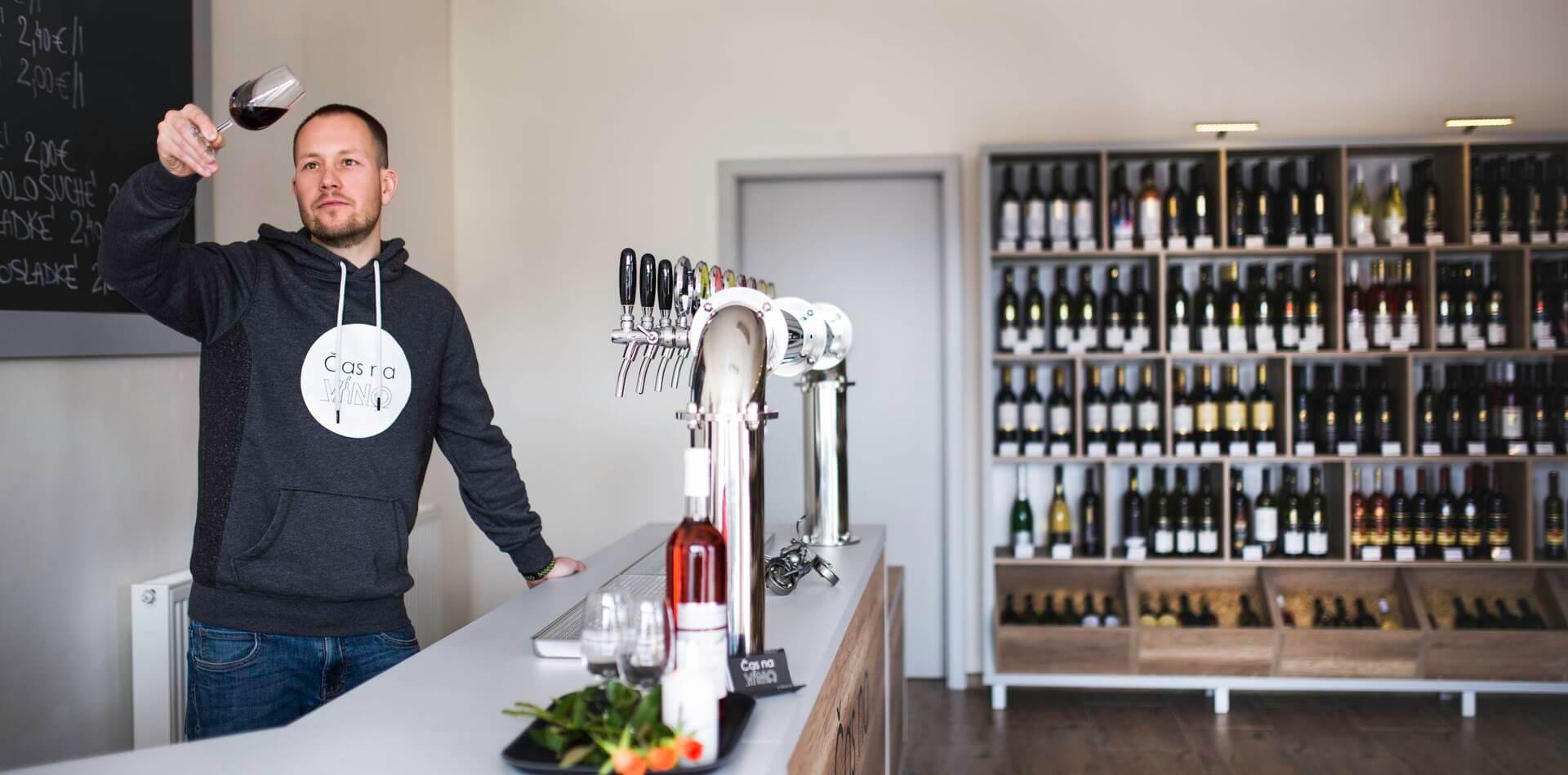 Vinotéka Čas na víno Žiar nad Hronom